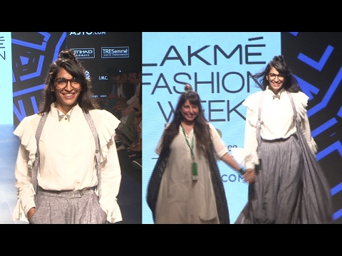 Anushka Manchanda Walks As Showstopper For Designer Chola At Lakme Fasion Week Summer 2017