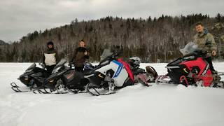 2. Snowmobile fun BRP MXZ 850 etec, Renegade 600, Polaris switchback 600, 800