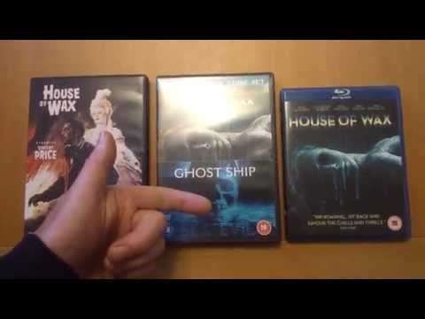 THE HOUSE OF WAX Dvd And Blu-ray