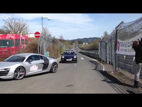 Gran Turismo Events - A small Impression from the famous Trackday at the even more famous Nürburgring Nordschleife. This at the Entrance to the Nordschleife. Please excuse the win...