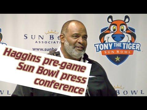 FSU interim head football coach Odell Haggins on Marvin Wilson's return, Sun Bowl