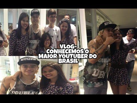 Vlog- CONHECEMOS O MAIOR YOUTUBER DO BRASIL WHINDERSSON NUNES
