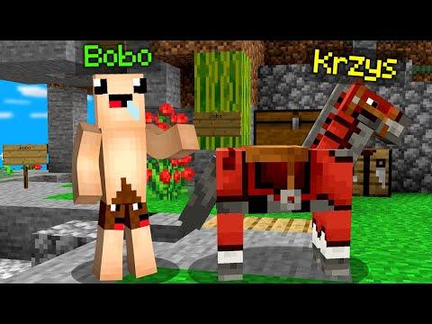 CZY ZNAJDĘ KONIKA KRZYSIA w Minecraft ?! 😨😱