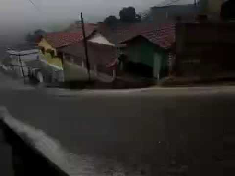 Chuvar em Machacalis muito forte