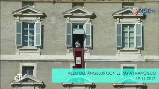 REZO DEL ÁNGELUS Y MENSAJE DEL PAPA FRANCISCO