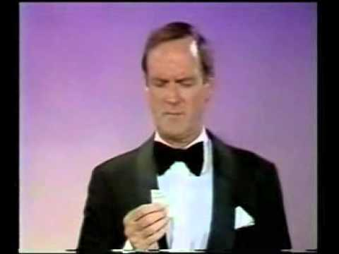John Cleese thanks everyone on the planet for his award in 1988