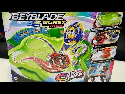 INFINITY BRINK BATTLE SET Unboxing & Test Battles! | Beyblade Burst Rise/GT HyperSphere