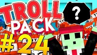 STEALING PETEZAHHUTT'S HOUSE - Minecraft TROLL PACK #24