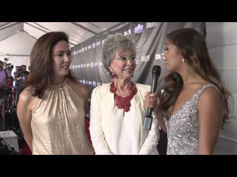 RITA MORENO talks about why she is a Dancer Against Cancer on the IDA red carpet