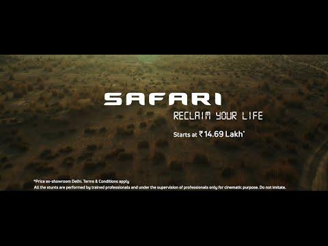 Tata Safari-#ReclaimYourLife
