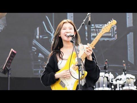 170923 백예린(Baek Yerin) - Bunny (버니) 미발표곡 [렛츠락페스티벌] 4K 직캠 by 비몽