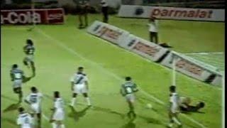 Em 1994, o Palmeiras vence a Ponte preta por goleada. Maurilio, Rincón, Tonhão, Sorato e Evair marcaram para o Verdão.
