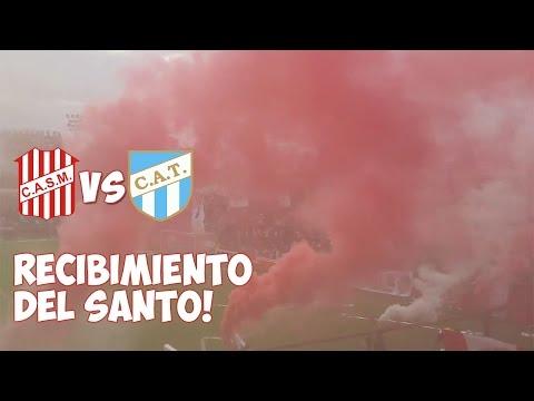 Recibimiento de San Martin de Tucuman VS Atletico Tucuman | COPA BICENTENARIO 2016 - La Banda del Camion - San Martín de Tucumán