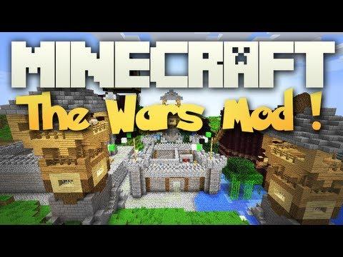 Minecraft: Mody 1.3.2 - The Wars Mod! (Wojny,Igrzyska Śmierci,Gry,Craftowane Budowle!)