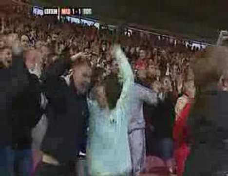 Luke Young, Gol vs Tottenham