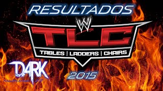 Resultados WWE TLC 2015 Roman Reigns vs Sheamus, Dean Ambrose vs Kevin Owens
