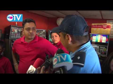 Policía Nacional verifica legalidad de negocios de tragamonedas ubicados cerca de centros educativos