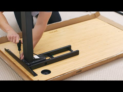 How to Assemble your Fully Jarvis Standing Desk