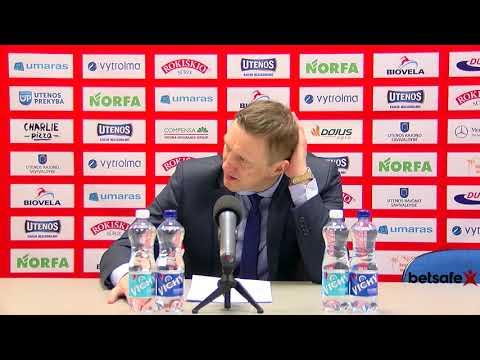 """Betsafe–LKL"" rungtynių komentarai: ""Juventus"" - ""Lietkabelis"" [2018-03-24]"