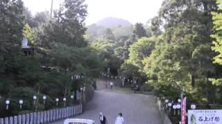 石上げ祭(14)子供連 大宮浅間神社 参拝