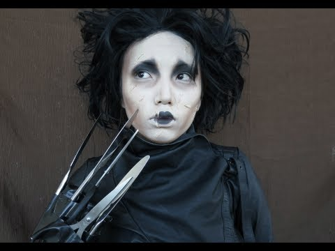 Johnny Depp Make-up Transformation  %28Edward Scissor Hands%2CCaptain Jack Sparrow %26 Willy Wonka %29