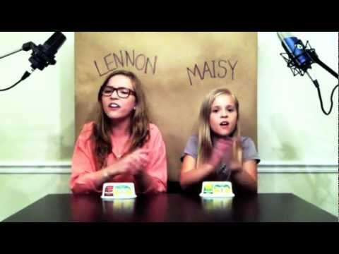 'Call Your Girlfriend' Robyn/ Erato cover by Lennon & Maisy Stella