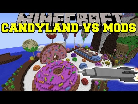 mods - Weapons+ & Pigzilla Mod Vs CandyLand Map! Let's try to hit 6000 likes! Enjoy the video? Help me out and share it with your friends! Don't forget to Subscribe! Like my Facebook! http://www.facebook...