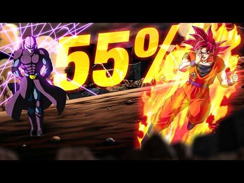 HOW GOOD IS LR SUPER SAIYAN GOD GOKU & HIT WITHOUT DUPES? 55% (DBZ: Dokkan Battle)