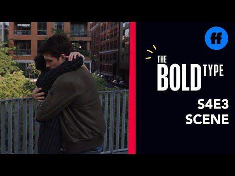 The Bold Type Season 4, Episode 3   Ryan Tells Jane About The Kiss   Freeform