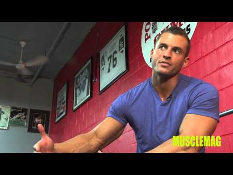 Ryan Hughes - IFBB Pro Ryan Hughes lets you in on some of his bodybuilding secrets while plowing through our innovative 7x7 Training System featured in the November 2012 i...