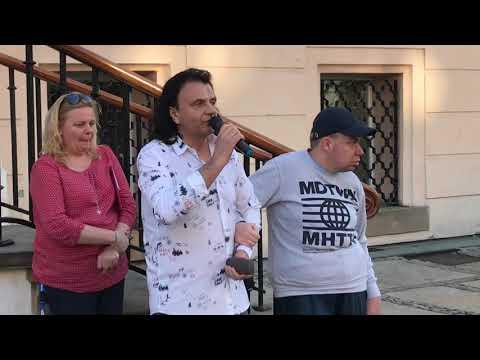 Wideo1: Pikieta Solidarni z rodzicami osób niepełnosprawnych na leszczyńskim Rynku