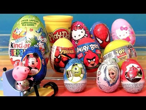 surprise - Disney Collector presents Ueva Huevos Sorpresa, this time i'm opening Surprise Eggs & Blind Bags from different movie cartoons like: Minecraft, Adventures of...
