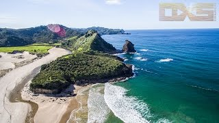 Great Barrier Island New Zealand  City new picture : Great Barrier Island NZ - A Drones Perspective 4K