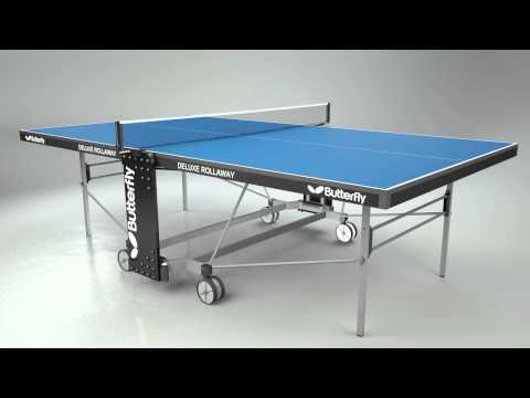 Butterfly Deluxe Rollaway Table Tennis Table