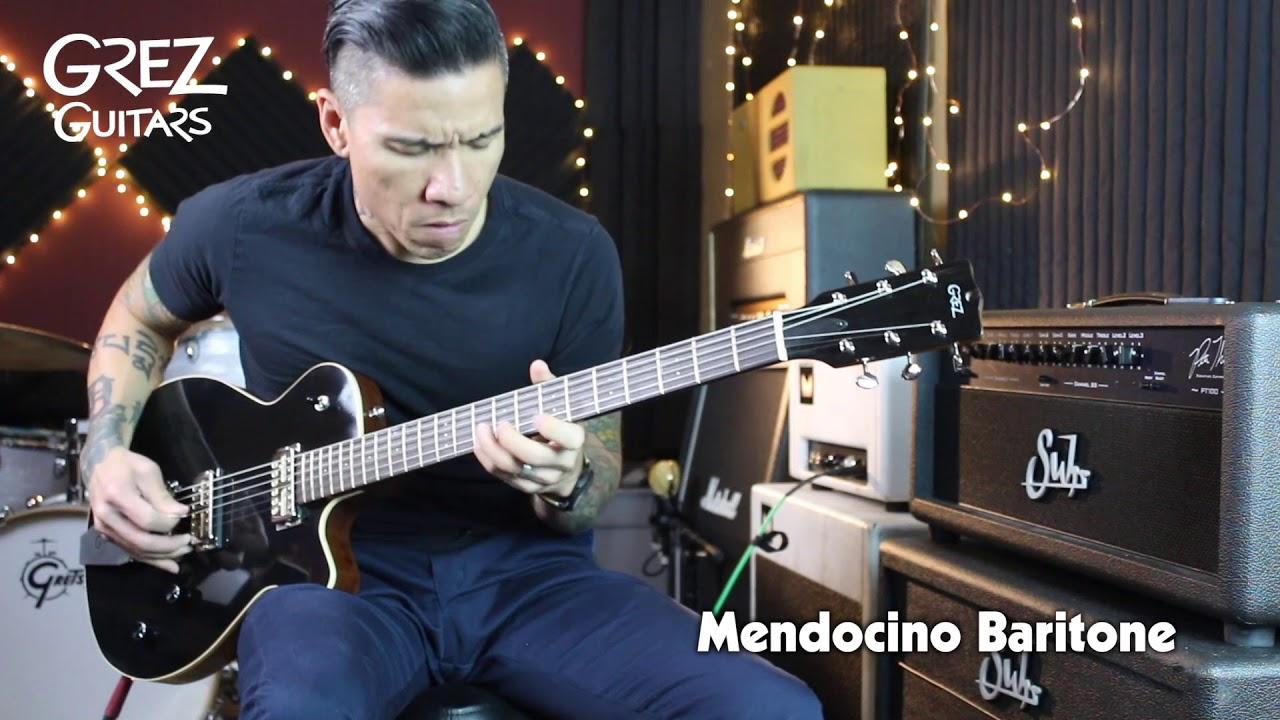 Grez Guitars Mendocino Baritone – guitar demo by RJ Ronquillo
