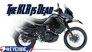 10. Kawasaki Kills the KLR 650, Will a *KLX 550* Dual Sport Replace It?! #everide