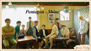 Video PENTAGON (펜타곤) - 빛나리 (Shine) Easy Lyrics MP3, 3GP, MP4, WEBM, AVI, FLV Juni 2018