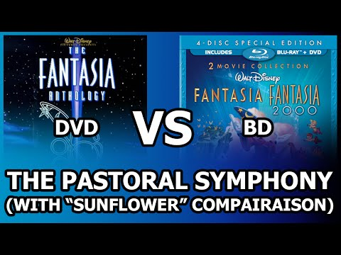 Fantasia  DVD Vs BD Comparison - Pastoral (With Sunflower)