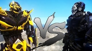 The battle between OPTIMUS PRIME & BUMBLEBEE VS STINGER & LOCKDOWN takes place in Grand Theft Auto IV. ◙◙ Optimus Prime (formally Orion Pax) is . BUMBLEBEE v...