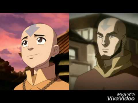 How the Avatar: Last Airbender-characters looking in the Korra-Series