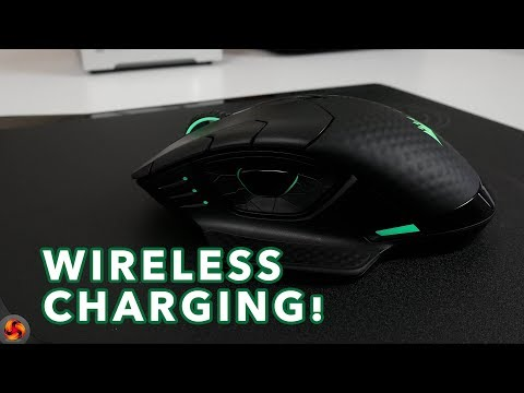 Corsair Dark Core SE RGB & MM1000 Qi Mouse Pad - Wireless charging!