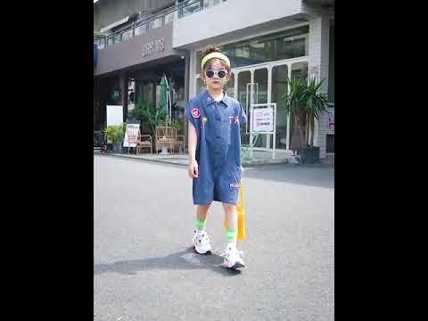 2020 одежда для малышей комбинезоны девочек хлопковый детский комбине… видео