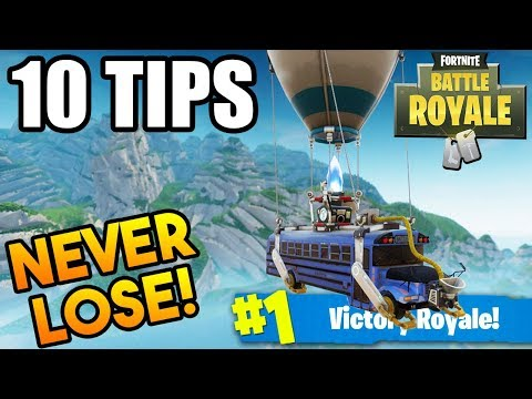 How To WIN FORTNITE In 2019 EVERY TIME! - Fortnite Battle Royale! 10 Tips To WIN! (Fortnite )