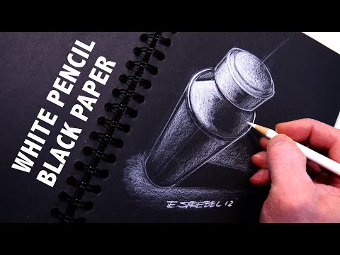 Sketch - Eric Strebel shows you design sketching using a black piece of paper and a white colored prismacolor pencil. This technique has been used since the early day...
