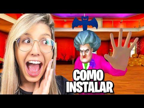 COMO INSTALAR A VERSÃO DE HALLOWEEN NO JOGO DA PROFESSORA MALVADA! (Scary Teacher 3D)