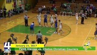 TVHS Boys Basketball vs. Clinton Christian