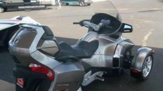3. 2012 Can-Am Spyder Roadster RT Audio And Convenience SE5 for sale in AMARILLO, TX