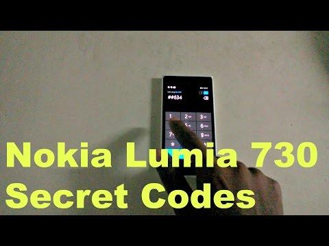 Nokia Lumia 730 Secret Codes