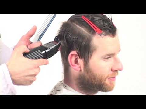 Men`s Haircut two blocks