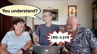 Bố mẹ Dan chưa quen cách phát âm tiếng Anh của người Việt. Liệu họ có hiểu không? Thử dùng ELSA: https://www.elsaspeak.com/home Nhận khuyến mại: ...